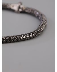 Christian Koban - Clou Black Diamond Bracelet - Lyst