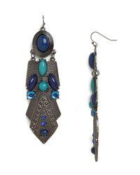BaubleBar   Metallic Azure Amun Earrings   Lyst