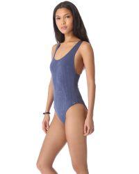 Prism - Blue Los Angeles One Piece Swimsuit - Lyst