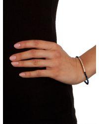 BaubleBar | Blue Azure Bar Bead Bracelet | Lyst