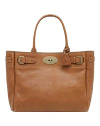 Mulberry | Brown Bayswater Tote Handbag Tan | Lyst