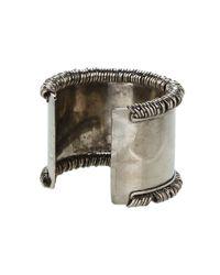 Jean Paul Gaultier - Metallic Multi Ring Cuff - Lyst