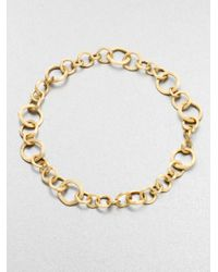 Marco Bicego | Metallic Jaipur Link 18K Yellow Gold Necklace | Lyst