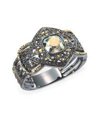 Judith Leiber | Metallic Swarovski Crystal Starlet Bracelet | Lyst