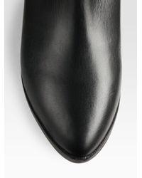 Rebecca Minkoff - Black Mab Leather Tassel Boots - Lyst