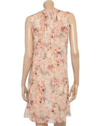 Vanessa Bruno | Pink Floralprint Cotton Dress | Lyst
