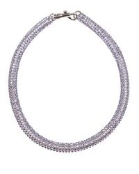 Atelier Swarovski | Blue Tubular Crystal Necklace | Lyst