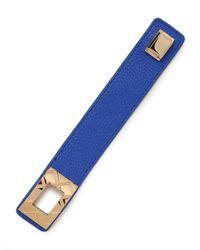 BaubleBar | Blue Cobalt Quilt Belt Wrap | Lyst