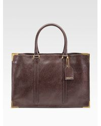 Fendi | Brown Classico No. 4 Leather Tote | Lyst