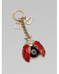 Juicy Couture | Red Ladybug Key Ring | Lyst