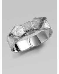kate spade new york - Metallic Bow Bracelet - Lyst
