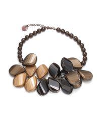 Pono | Brown Pretty Petal Choker | Lyst