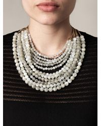 Rosantica - White Raissa Agate Necklace - Lyst
