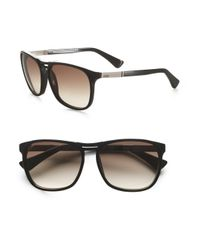 Tod's | Black Classic Wayfarer Sunglasses for Men | Lyst