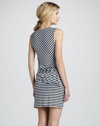 Bailey 44 - Blue Devil Ray Stripe Dress - Lyst