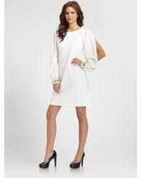 Elie Tahari | White Pencey Dress | Lyst