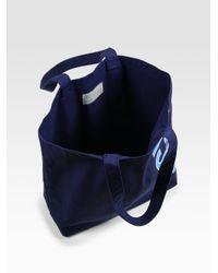 Jack Spade | Blue Canvas Logo Tote for Men | Lyst