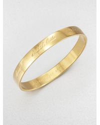 Kate Spade | Metallic Bride Bangle Bracelet | Lyst