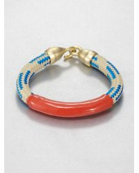 Orly Genger By Jaclyn Mayer | Multicolor Annabelle Enamel Dipped Rope Bracelet | Lyst