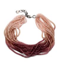 Pono - Multicolor Caviar Necklace - Lyst