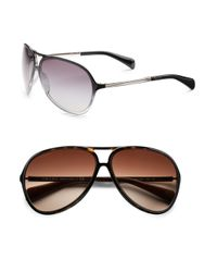 Prada | Gray Aviator Sunglasses for Men | Lyst