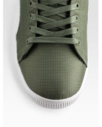 PUMA - Green Clyde Script Sneakers/nylon for Men - Lyst