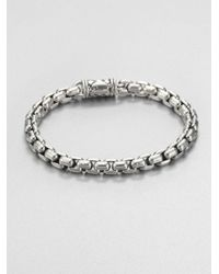 Scott Kay - Metallic Sterling Silver Chain Bracelet for Men - Lyst