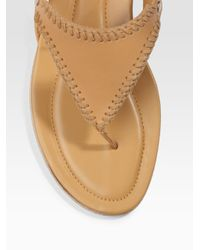 Tod's | Brown Nuovo Matisse Thong Sandals | Lyst