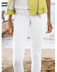 AG Jeans - White The Legging Ankle Skinny Jeans - Lyst