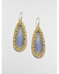 Alexis Bittar - Crystalframed Drop Earrings - Lyst