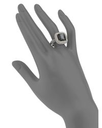 Di Modolo | Metallic Hematite Textured Ring | Lyst
