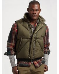 RLX Ralph Lauren | Green Himalayan Down Vest for Men | Lyst