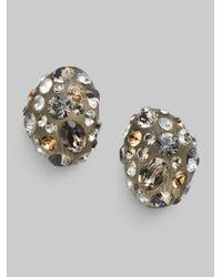 Alexis Bittar - Metallic Champagne Dust Pav233 Bean Earrings - Lyst