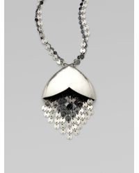 Giles & Brother | Metallic Taki Twotone Pendant Necklace | Lyst
