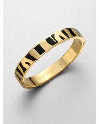 kate spade new york - Metallic Might Mane Bangle Bracelet - Lyst