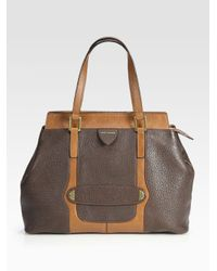 Marc Jacobs - Brown Crosby Perry Satchel - Lyst