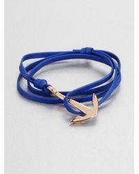 Miansai - Red Rope Bracelet for Men - Lyst