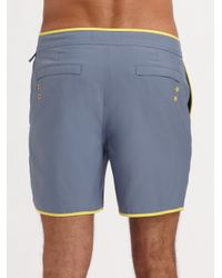 Original Penguin | Gray Volley Swim Shorts/solid for Men | Lyst