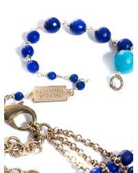 Rosantica - Blue Orchidea Agate and Angelite Necklace - Lyst
