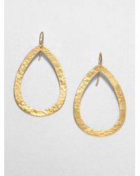 Stephanie Kantis | Metallic Paris Large Teardrop Earrings | Lyst