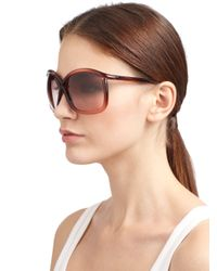 Tom Ford - Brown Charlie Sunglasses - Lyst