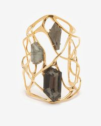 Alexis Bittar - Metallic Interlaced Pyrite Cuff - Lyst