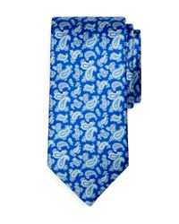 Brooks Brothers - Blue Golden Fleece Double Paisley Print Sevenfold Tie for Men - Lyst