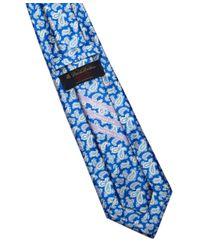 Brooks Brothers - Blue Golden Fleece Double Paisley Print Sevenfold Tie for Men - Lyst
