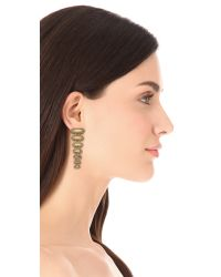 House of Harlow 1960 - Metallic Gypsy Rope Earrings - Lyst