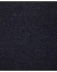 A.P.C. - Blue Indigo Russian Square Neck Dress - Lyst