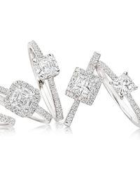 Astley Clarke - Metallic Diamond 050ct Princess Cut Ring - Lyst