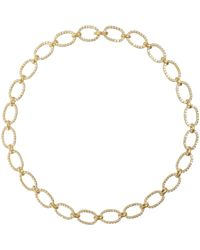 Irene Neuwirth | Metallic Oval-link Necklace | Lyst