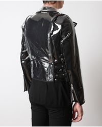 Wanda Nylon - Multicolor Transparent Pvc Biker Jacket for Men - Lyst