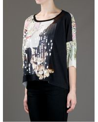 Antonio Marras - Black Embellished Brocade Top - Lyst